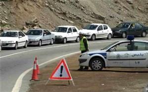 محدودیتهای ترافیکی پایان هفته در جاده کرج- چالوس