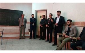 آموزش پیشتازان در مدرسه حافظ اداره آموزش و پرورش ناحیه یک استان