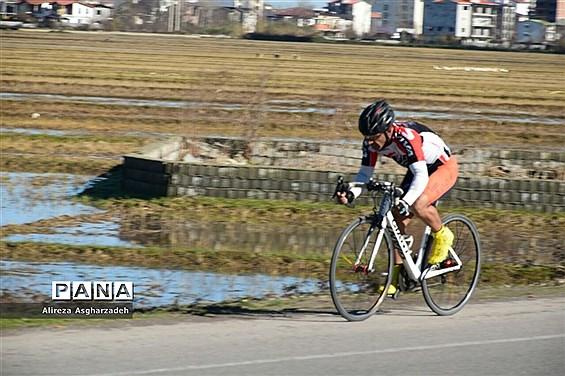 آخرین مرحله سیزدهمین لیگ دوچرخهسواری مازندران