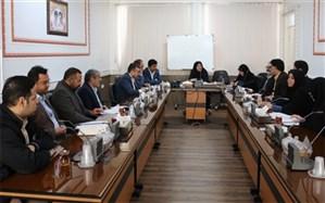 جلسه بررسی بخشنامه وزارتی طرح توسعه ورزش فرهنگیان با اولویت ورزش بانوان فرهنگی