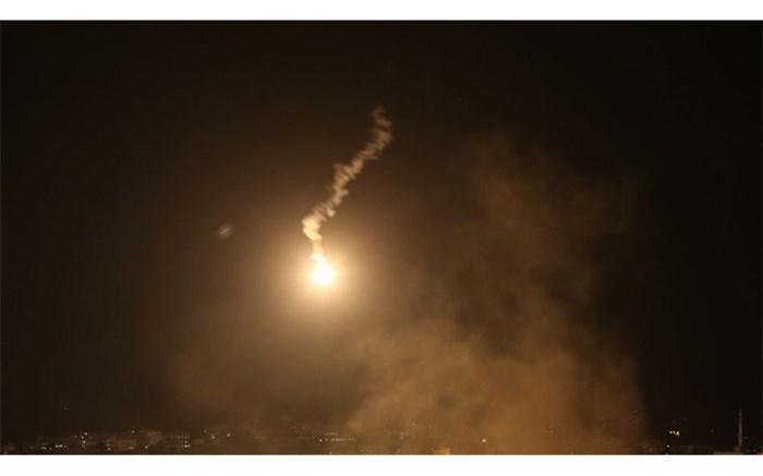 حمله موشکی به شهرک های صهیونیستی هم مرز با غزه