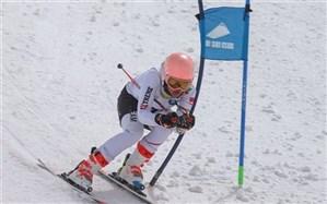 چهارمین دوره مسابقات اسکی آلپاین در پیست بین المللی دیزین البرز برگزار شد