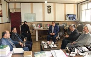 بازدید مسئولین موسسه ترویج فرهنگ قرآنی از مدارس شهرری