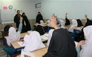بازدید رئیس اداره قرآن، عترت و نماز  آموزش و پرورش شهرستانهای تهران از مدارس ناحیه یک ری