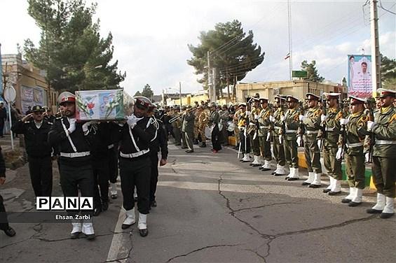 مراسم تشیع پیکر پاک و مطهر  شهید غلامحسن جامدوست در تربت جام