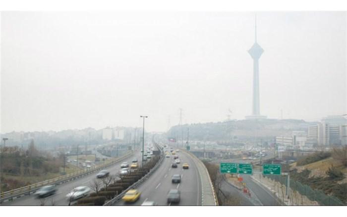 آلودگی - هوای تهران