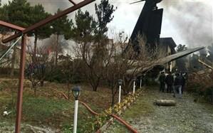 15 کشته و یک زخمی در اثر سقوط هواپیما در صفادشت کرج+ فیلم