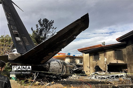 سقوط هواپیمای بوئینگ ۷۰۷ در کرج