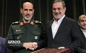 نشان مدیر برگزیده جهادی جمهوری اسلامی ایران به وزیر آموزشوپرورش اهدا شد