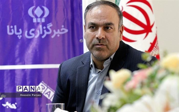 حضور علی شهری، مدیرکل تجهیز و نوسازی مدارس استان تهران، در خبرگزاری پانا