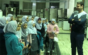 بازدید دانش آموزان البرزی  از آزمایشگاه های موسسه ملی استاندارد