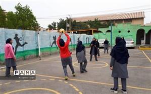 برگزاری اولین  دوره مسابقات والیبال در هنرستان ام البنین