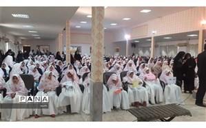 برگزاری جشن تکلیف۳۰۰نفراز  دختران  دانش آموز