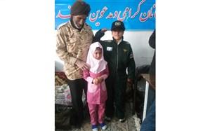خانواده شهید بابایی دانش آموز نیشابوری را به آرزویش رساند
