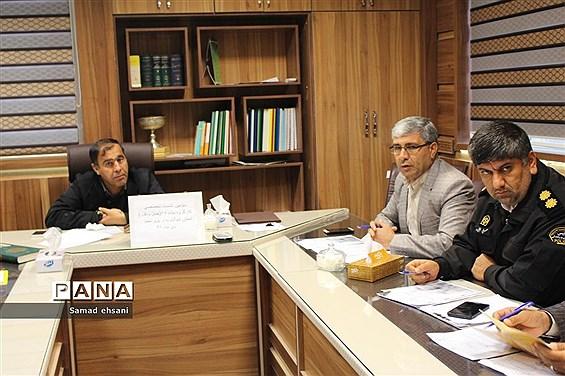 سومین نشست تخصصی کارگروه ماده 18 ، حمل و نقل مدارس استان کهگیلویه و بویراحمد