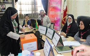 برگزاری انتخابات مجامع اعضا و مربیان سازمان دانشآموزی  شهرقدس