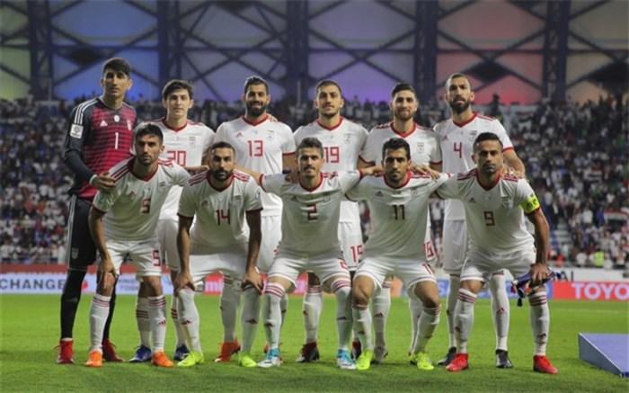تیم ملی فوتبال ایران 2019