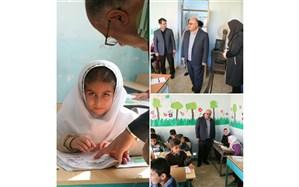 مدیر کل آموزش و پرورش آذربایجان غربی از مدارس میاندوآب بازدید کرد