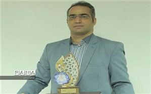 فرهنگی کاشانی به عنوان پژوهشگر برتر  انتخاب شد