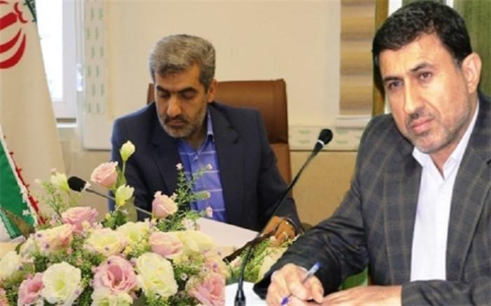استاندار البرز و مدیر کل آموزش و پرورش