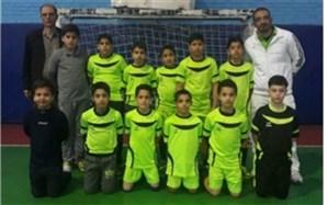برگزاری مسابقات فوتسال آموزشگاه های پسران مقطع ابتدایی شهریار