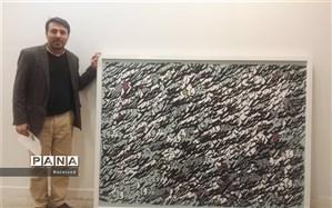 راهیابی اثر خوشنویس خوزستانی به جشنواره بین الملی هنرهای تجسمی فجر