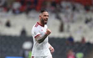 اشکان دژاگه نامزد بهترین بازیکن مرحله گروهی جام ملتهای آسیا شد