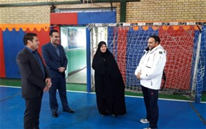 بازدید معاون تربیتبدنی و سلامت اداره کل آموزش و پرورش شهرستانهای  استان تهران تهران از شهرری