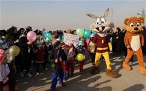 برگزاری پیادهروی روزهوای پاک در قیامدشت