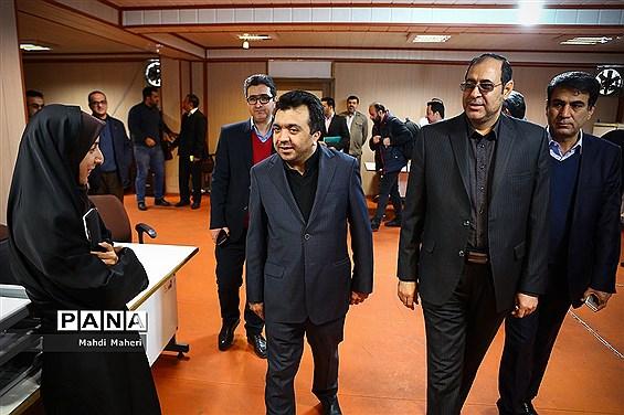 بازدید قائم مقام وزیرآموزش و پرورش از ستاد برگزاری انتخابات تعیین نمایندگان فرهنگیان