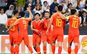 جام ملتهای آسیا؛ چین راهی یک چهارم نهایی شد