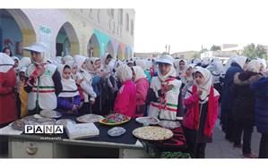 برگزاری مراسم شهادت حضرت فاطمه (س) در دبستان دوره دوم عاطفه آبادان
