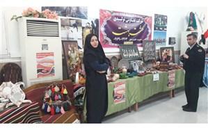 افتتاحیه اولین نمایشگاه هفته فرهنگی شهرستان آغاجاری