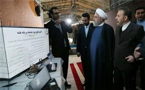 بازدید روحانی از نمایشگاه کسب و کارهای آینده