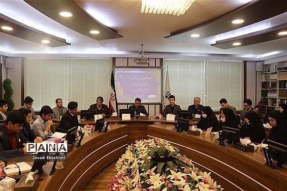 نشست نمایندگان مجلس دانشآموزی و منتخبان شورای دانشآموزی