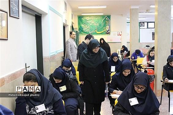 بازدید مهاجرانی از برگزاری  المپیادهای دانش آموزی