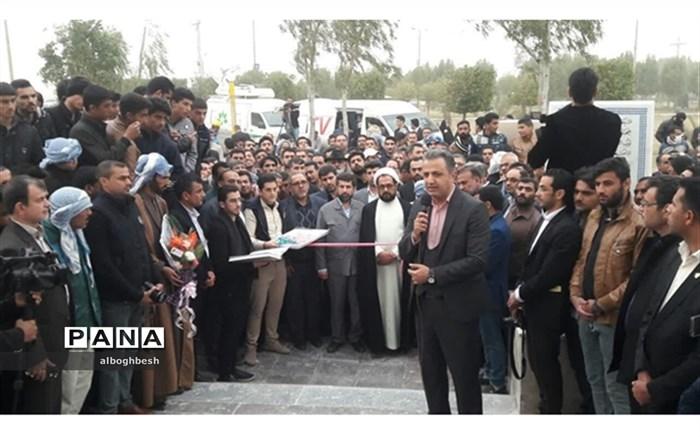 افتتاح یادمان ملافاضل سکرانی