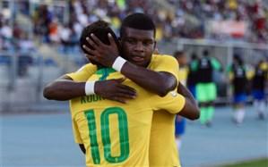 فوتبال قهرمانی جوانان آمریکای جنوبی؛ برد اول در حساب برزیل ثبت شد