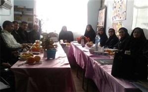 برگزاری جلسه هم اندیشی معاونین پرورشی مدارس شهرستان فیروزکوه