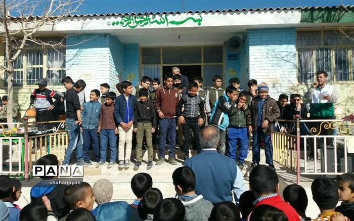 اردوی رفاقت وهمدلی دانش آموزان شهروروستای کاشمر