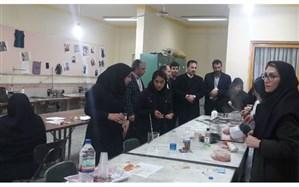 ۷ برگزیده المپیاد فرش دستبافت هنرستانهای مازندران به مرحله کشوری راه یافتند