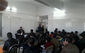 معاون پرورشی آموزش وپرورش بویراحمد با هنرجویان هنرستان کشاورزی آیت الله ملک حسینی دیدار کردند