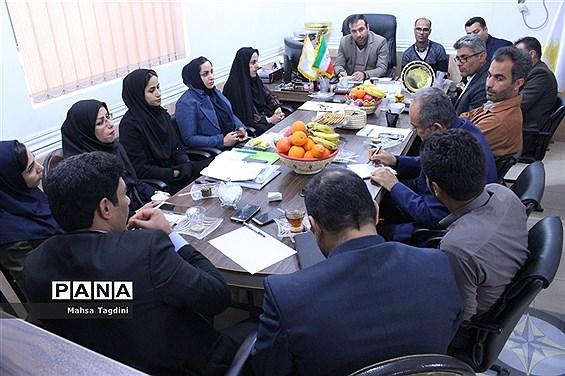 جلسه مشترک روسا و نواب هئیتهای ورزشی روستایی استان بوشهر