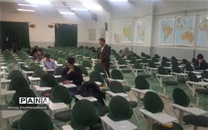 بازدید رئیس و کارشناس اداره استعدادهای درخشان از حوزه امتحانی المپیاد نجوم و اختر فیزیک