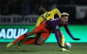 جام اتحادیه انگلیس؛ سیتزینها تیم دسته دومی را دو رقمی کردند