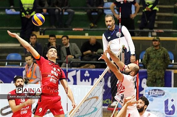 دور برگشت دربی والیبال آذربایجان