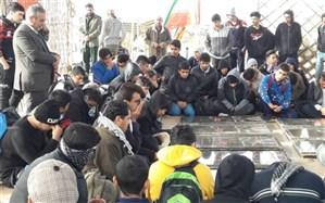 اعزام مرحله پسران راهیان نور دانش آموزی و فرهنگیان استان بوشهر در سال 97 به مناطق جنوب