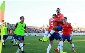 فوتبال قهرمانی جوانان آمریکای جنوبی؛ میزبان برد اول را جشن گرفت