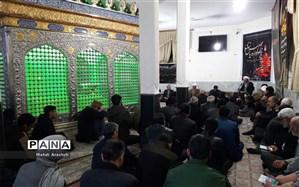 دعای کمیل در امامزاده نصرآباد خوسف برگزار شد