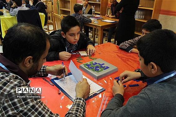 دومین روز مسابقات بازی های فکری در شیراز